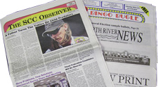 Newspaper publications including weeklies and monthlies are our specialty